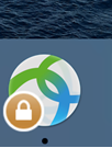 Connected AnyConnect Mac OS VPN Image System Tray